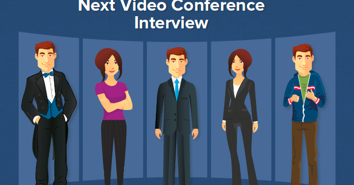 What to wear to a video conference