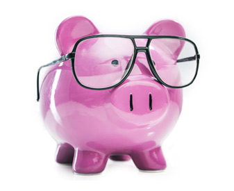 Health Care - Medical Pig With Glasses