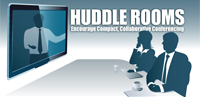 Huddle Rooms Encourage Compact, Collaborative Conferencing